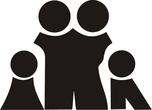 two children family