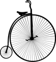 vintage model cycle icon