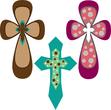 three holy crosses