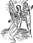 white winged angel