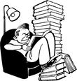 frustrated book reader