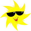 cool gogled sun