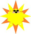 sun gets black goggles