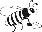 Worker bee sketch