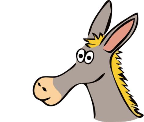 long ear donkey rh store 9file net Animal Ears Clip Art Pioneer Wagon Clip Art