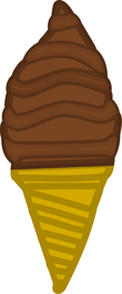 chocolate cone ice cream