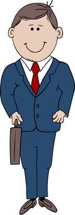 marketing executive clipart