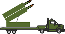 long military truck clipart