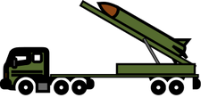 military truck clipart