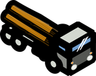 log carrirer truck clipart