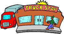Truck stop station