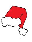 red Santa attire