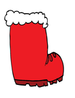 big red stocking