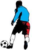 blue jersey goalkeeper