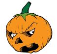 white eyed pumpkin