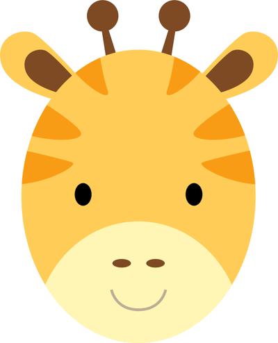 Giraffe Face Clip Art Free