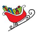 Santa's gift sledge