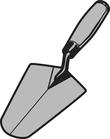 Triangle spatule