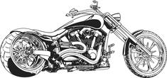 Retro motorcyle
