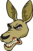 Donkey mascot head