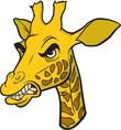 Giraffe mascot head