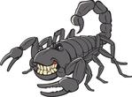 Angry scorpion