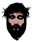 black beard man