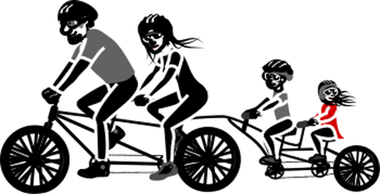 family bicycle