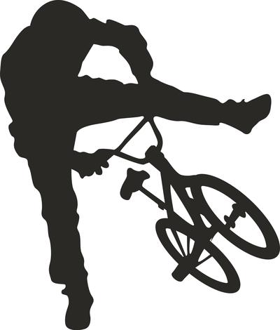 Bmx biker performance